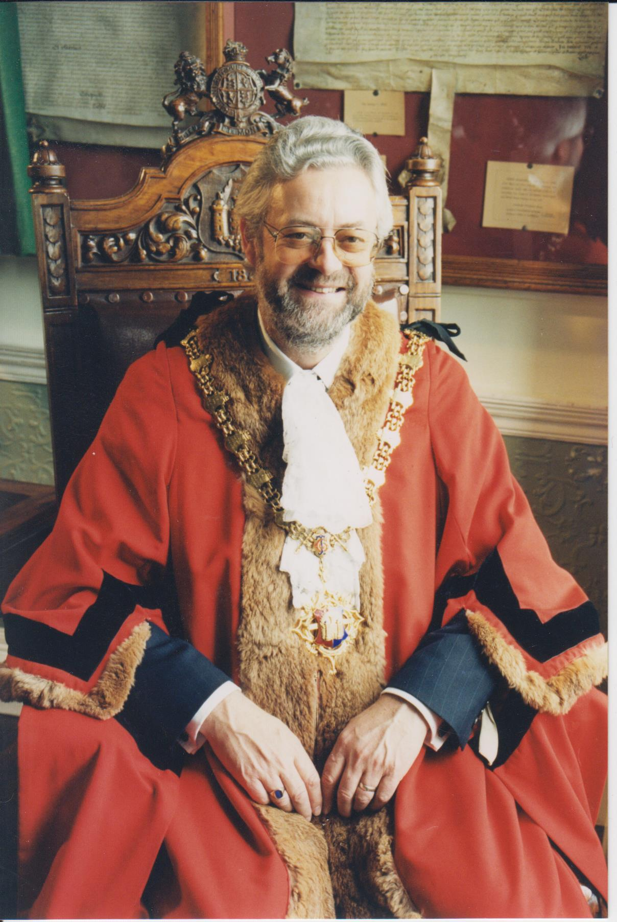 Noel Woolrych Mayor of Devizes 1999 2000